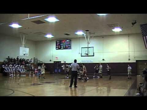 Wharton Hornets-58 vs Morris Plains-43: 12/20/11