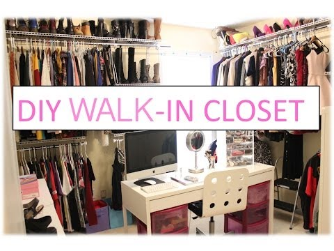 How To Build A Walk In Closet