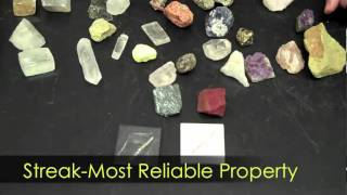 Mineral Characteristics-Hommocks Earth Science Department view on youtube.com tube online.