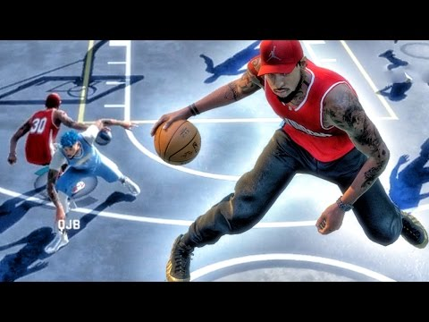 SICKEST SIZE UP MOVE IN PARK HISTORY! NBA 2k16 My Park Gameplay