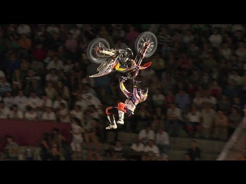FMX Competition in Madrid – Red Bull X-Fighters World Tour 2012