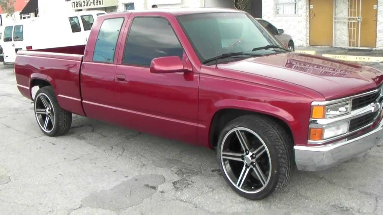 22 iroc rims on chevy truck autos post
