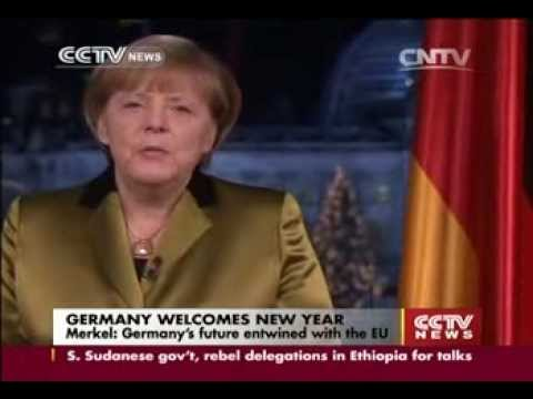 Merkel: Germany's future entwined with the EU