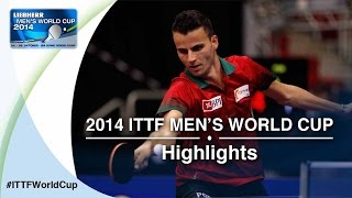 Review all the highlights from the APOLONIA Tiago vs FREITAS Marcos 1/16 first stage table tennis match at the 2014 Men&#39;s...</div><div class=