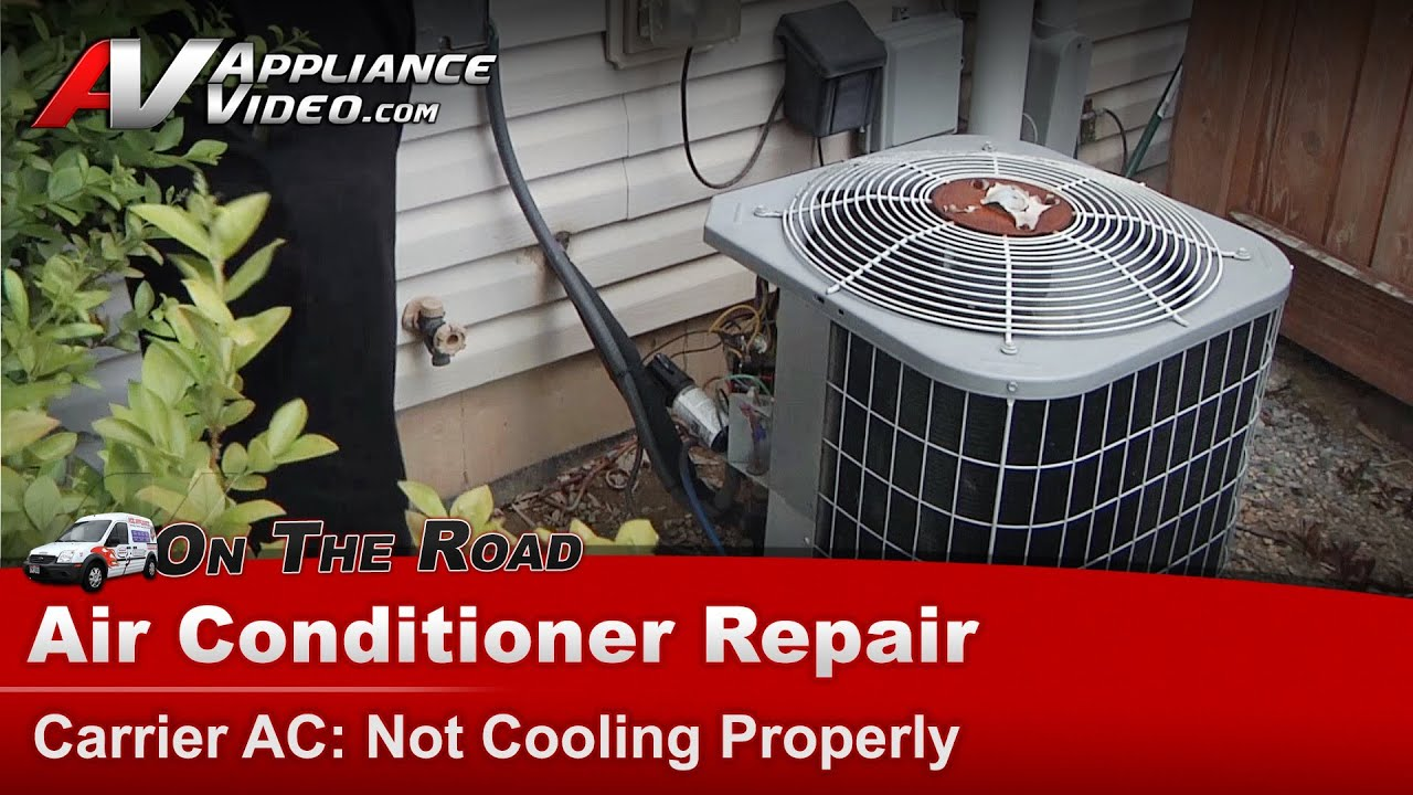 Central Air Conditioner Repair Not Cooling Properly