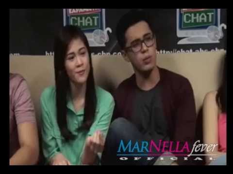 Janella and Marlo's sample on Kapamilya Live Chat.