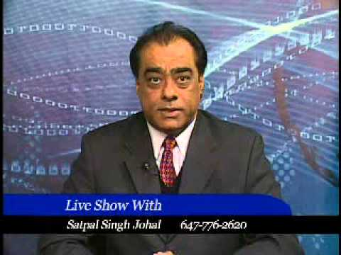 Satpal Singh Johal talk Nirmal Singh Khakh, pollution & drug issues of Punjab, SSTV Canada