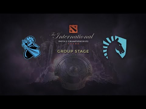 NewBee -vs- Liquid, The International 4, Group Stage, Day 1