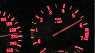 BMW E34 530i V8 Top Speed