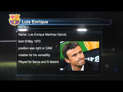 Luis Enrique Barcelona new manager