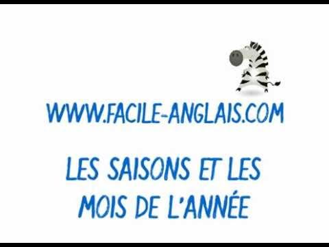 Apprendre les saisons et les mois de l 39 ann e en anglais avec facile youtube - Saisons de l annee ...
