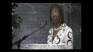IGDS Book Launch — Dr  Joan Rawlins