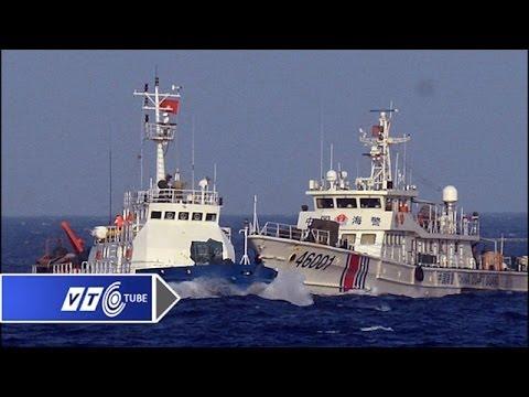 Tàu Trung Quốc tăng cường vây tàu Việt Nam | VTC