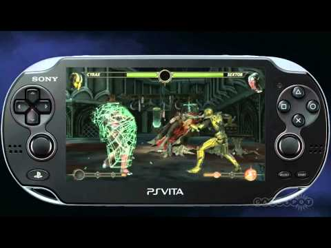 Mortal Kombat для PS Vita - новый трейлер