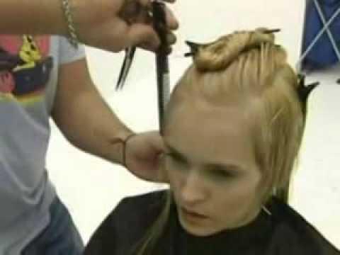 tworzenie fryzury blond cz.1, www.fryzury.lux-link.info