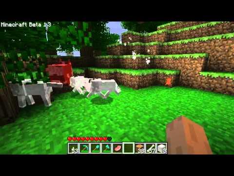 Волки, достижения, 10000 деревьев - первый взгляд на Minecraft Beta 1.4