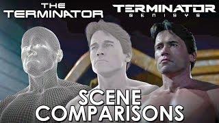 Terminator - porovnanie scén