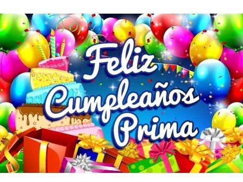 Feliz Cumpleaños Prima – Mensajes para un Cumpleaños Gratis