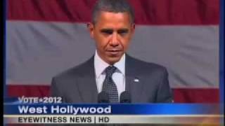 WATCH OBAMA'S FACE FREEZE 'ANTICHRIST SPIRIT' CONFRONTED