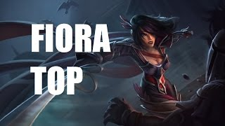League Of Legends Fiora Top Full Game Commentary