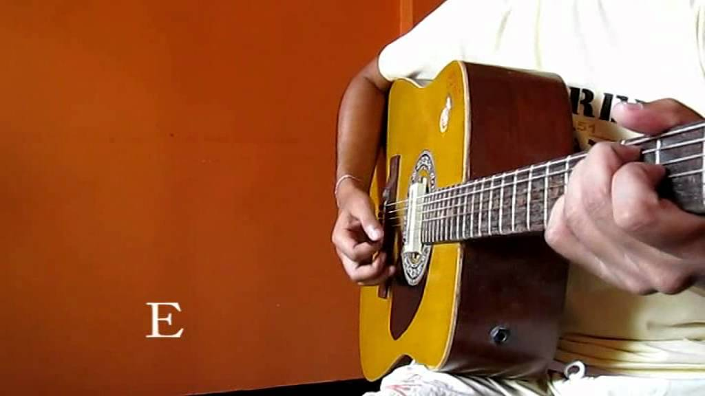 iktara male version guitar chords - YouTube