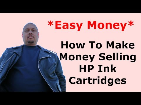 How To Make Money Selling HP Ink Cartridges On Ebay From Goodwill