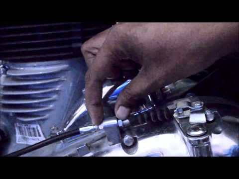 Royal Enfield Bullet Electra 350 UCE Clutch Adjustment DIY