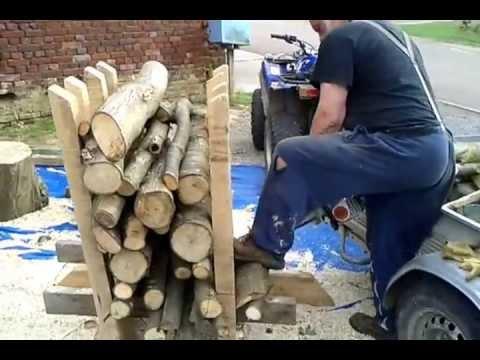 Chevalet pour coupe bois de chauffage