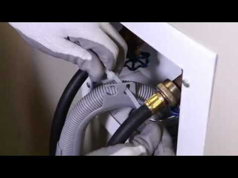 Front Load Washer Drain Hose Installation Youtube