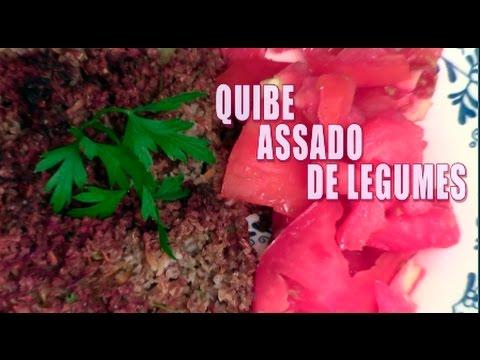 Receita de Quibe Assado de Legumes  #Vegetariano