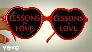 Neon Trees - Lessons In Love (All Day, All Night) (Lyric Video)
