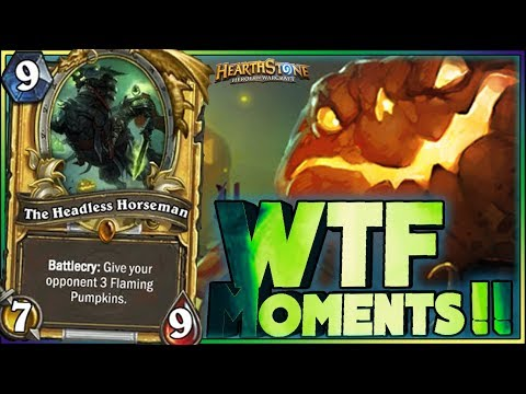 Hearthstone - WTF Daily Funny Rng Moments