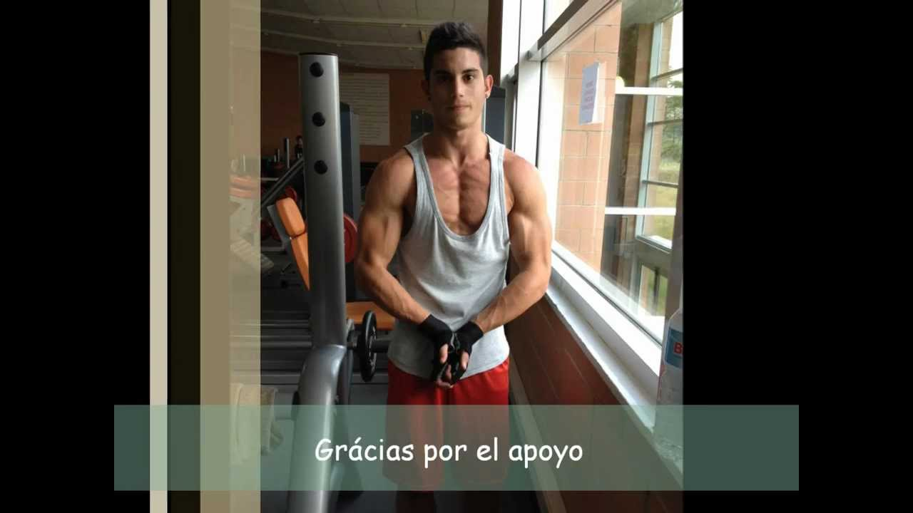 mi transformacion gym 16 a os youtube