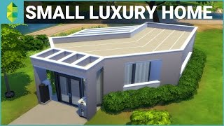 The Sims 4 House Building - Small Luxury Home