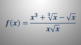 Odvod funkcije – primer 6