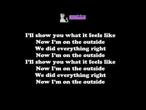 Calvin Harris - Outside ft Ellie Goulding (Lyrics On Screen)
