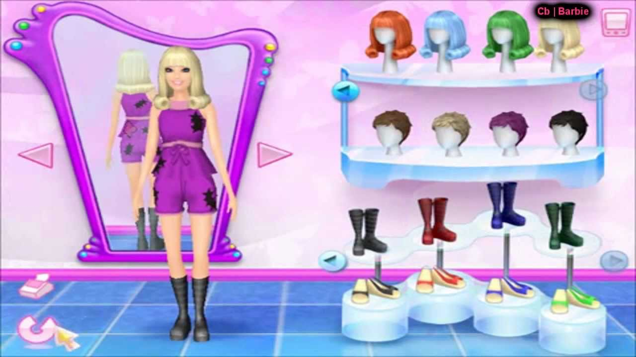 Barbie Fashion Show An Eye For Style By Cb Barbi Youtube