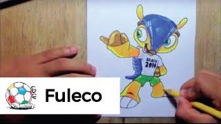 Dibujo De La Mascota De La Copa Mundial De Brasil 2014