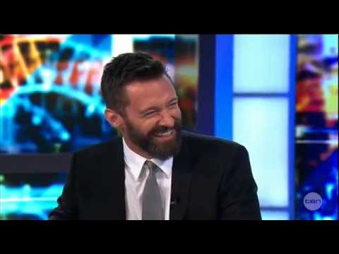 Hugh Jackman on The Project 16th of May 2014