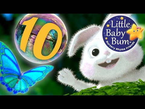 Numbers Song For Children 1-10 from Little Baby Bum   Beautiful 3D Animation in HD