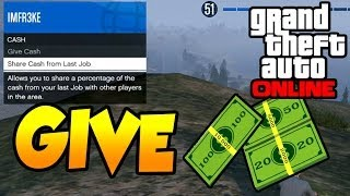 Game | GTA 5 ONLINE Give Money To Friends Cut From Last Job | GTA 5 ONLINE Give Money To Friends Cut From Last Job
