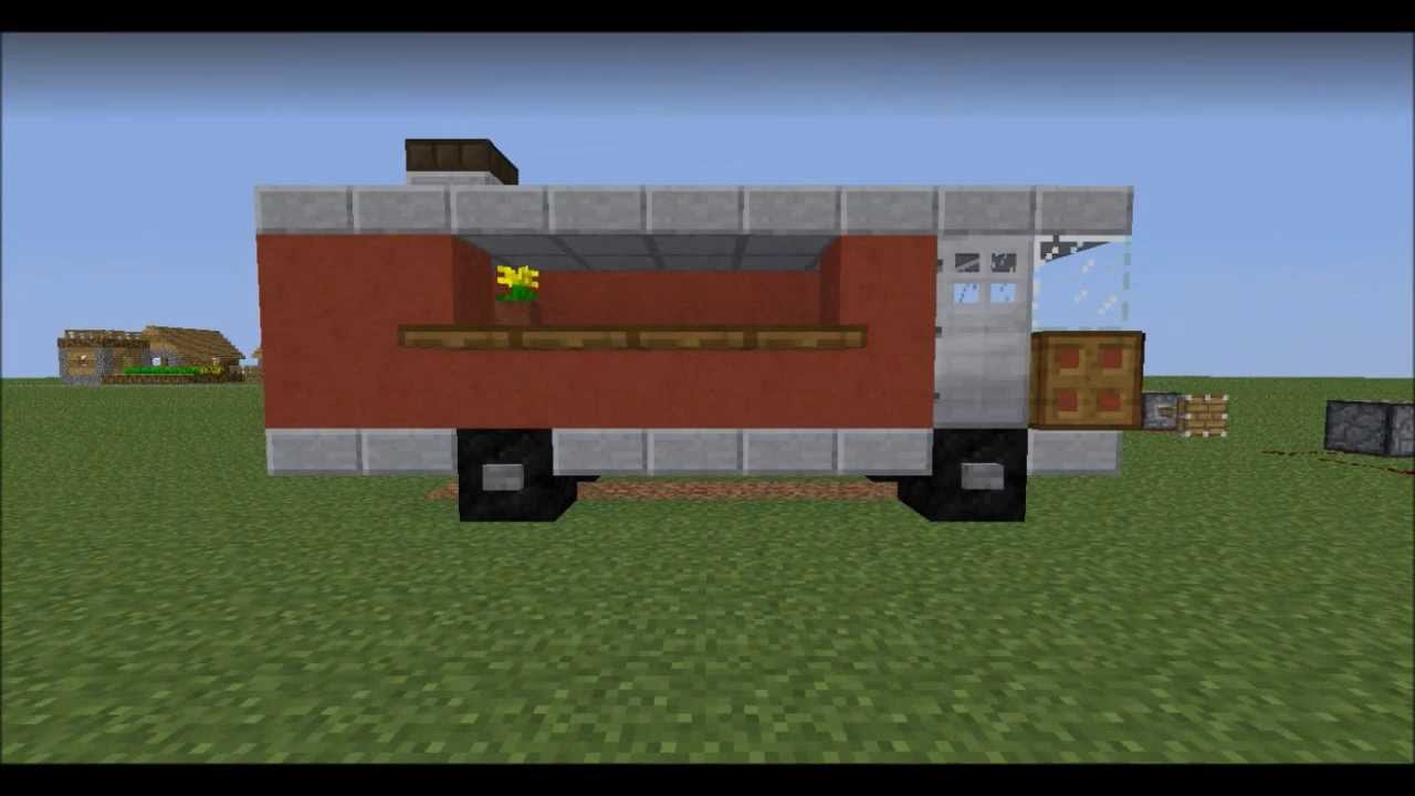How To Build A Fire Truck In Mc