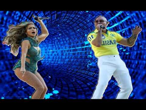 JENNIFER LOPEZ y PITBULL HACEN PLAYBACK en Mundial de Brasil 2014