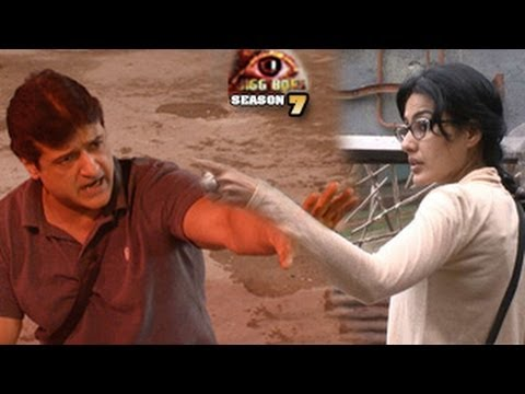 Bigg Boss 7 Kamya Armaan FIGHT 17th October 2013 FULL EPISODE