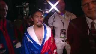Manny Pacquiao Vs Ricky Hatton Entrance