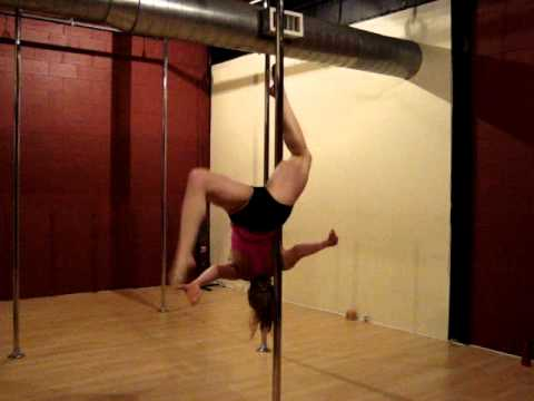 Level 10 Pole Routine (Advanced Version) - Breathe On Me
