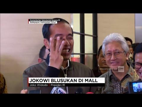 Jokowi Blusukan di Mal, Jokowi Beli Sendal & Kaus Dalam untuk Anak