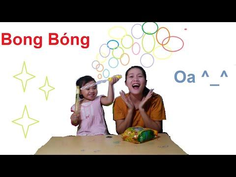 Nam Baby and funny Balloons , Trò chơi Thổi Bong Bóng xà phòng, Nấm Tube