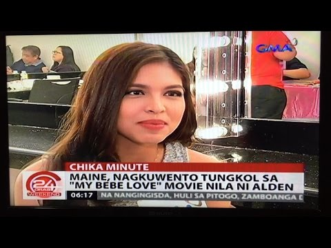 24 Oras Chika Minute -Maine Mendoza Interview #ALDUBonVADK Sunday Pinasaya December 13, 2015