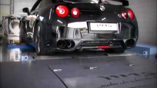 Nissan GT-R Soundfile mit HMS Performance Klappenabgasanlage.wmv videos